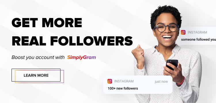 instagram organic growth service banner image