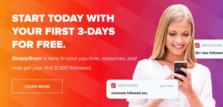 organic Instagram growth service banner image