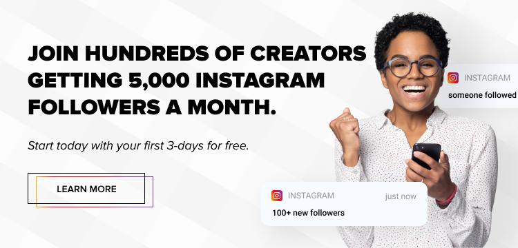 organic growth Instagram banner